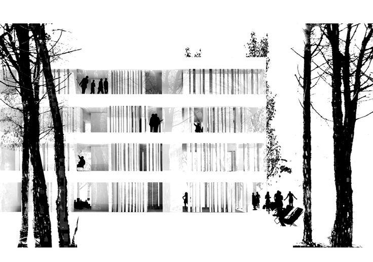 Serrano + Baquero. Estudio de Arquitectura de Granada #arquitectura #dibujos #perspectivas