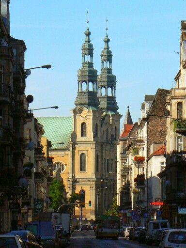 Poznań, kościół Ojców Bernardynów.