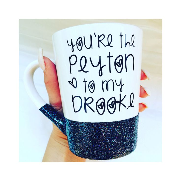 You're the Peyton to my Brooke - One Tree Hill TV Show Gift - One Tree Hill Fan Gift - BFF Gift - Best Friend Gift - One Tree Hill Mug by RichBrokeBtq on Etsy https://www.etsy.com/listing/433203793/youre-the-peyton-to-my-brooke-one-tree
