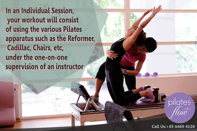 Individual Pilates fitness Session is designed to get you a single instructor will be on your way to guide for your workout using the various Pilates Reformer machines like Cadillac, reformer Chairs, etc.