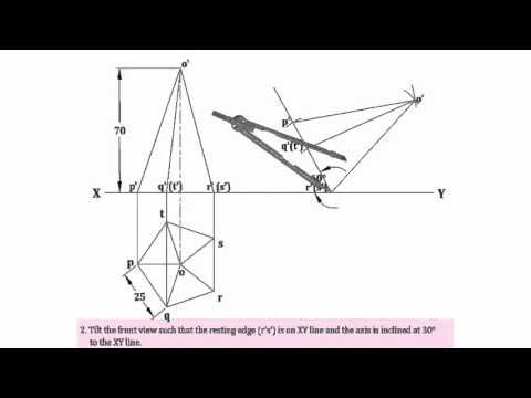 Introduction To Projection of solids. Watch this video to learn the basics of Projection of solids. https://www.youtube.com/watch?v=6grlJ0XS3iA To learn more register at http://learnengg.com/ #learnengg #engineering #3dm