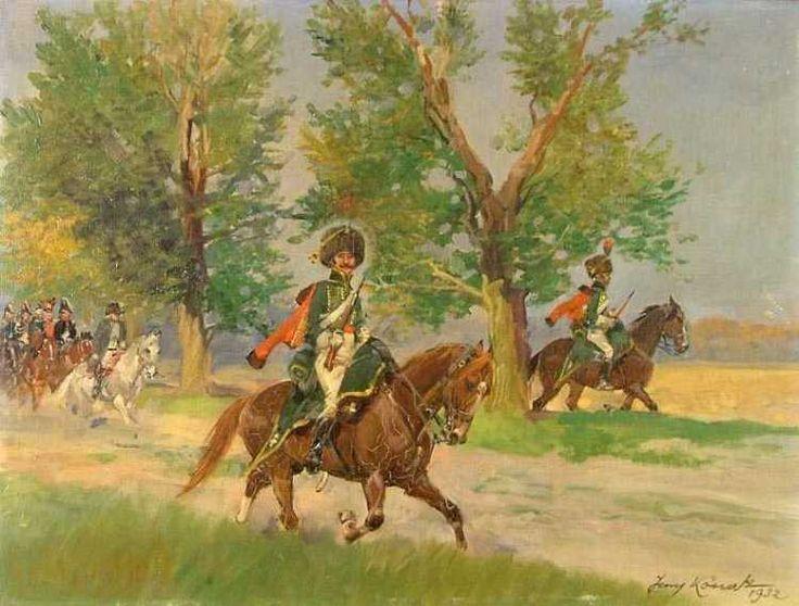 Hussars- Jerzy Kossak