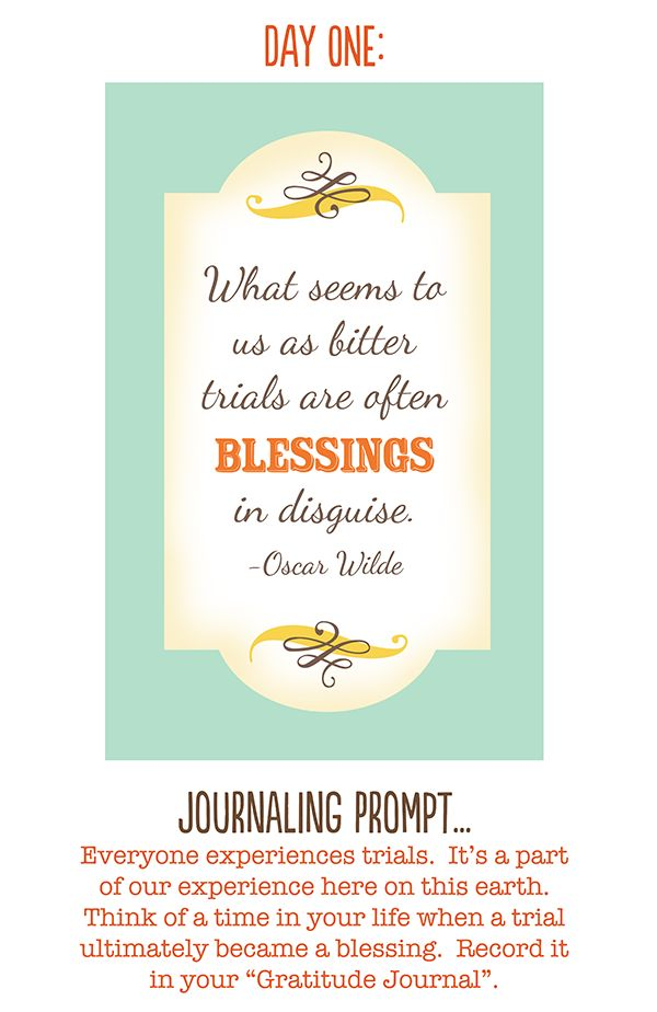 Gratitude quote.: 30 Day Challenges, Journals Prompts, Gratitude Journals, Gratitid Quotes, Brain Cancer, Gratitude Quotes, Gratitude Prompts, Photo Challenges, Blessed Quotes