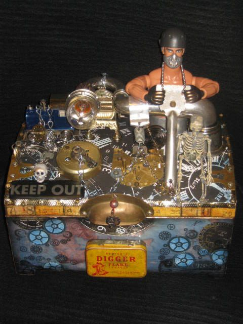 Sold Steampunk Box To See My Latest Items For Sale