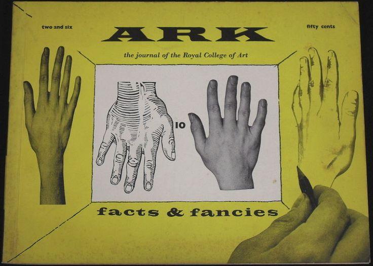 ARK - Royal College of Art journal, 1950s artwork, mid-century graphics