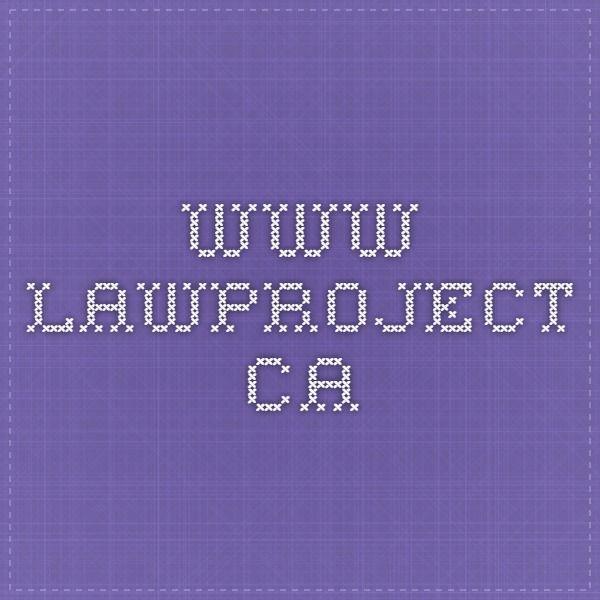www.lawproject.ca