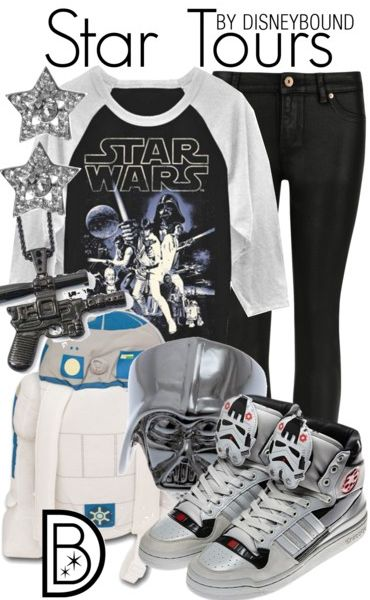 Perfect Star Tours outfit for a visit to Walt Disney World during Star Wars Weekends
