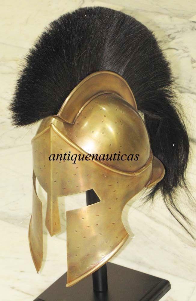 Collectible Medieval Roman Spartan 300 Helmet King Leonidas Armor LARP Helmet