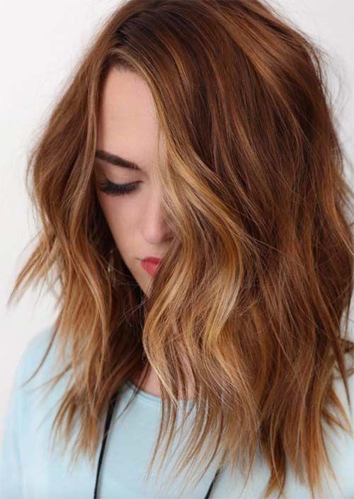 Balayage Hair Trend: 51 Balayage Haarfarben & Tipps Balayage Highlights zu bekommen