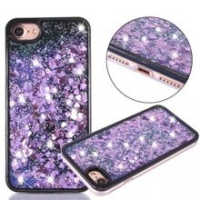 New Fashion Liquid Glitter meteor sand sequins Colorful Dynamic Transparent Mobile Phone cases For iphone 5 SE 6 6S plus 7 7plus //Price: $US $4.66 & FREE Shipping //     #samsung