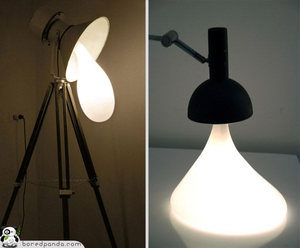 20 Best Unique And Unusual Lamps And Lampshades Images