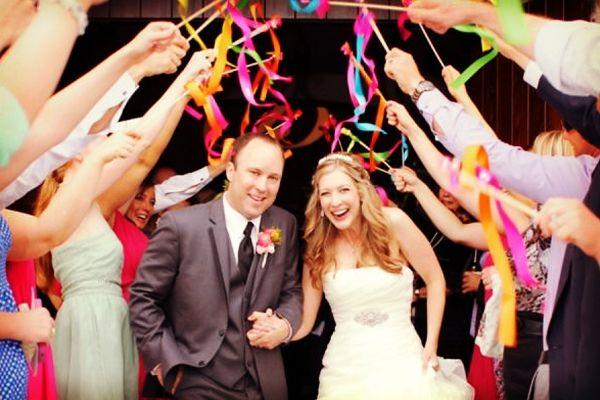 Ideas para la salida de la ceremonia de la boda