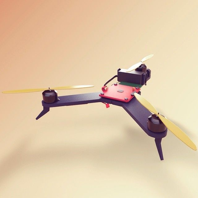 Rotorx inspired tricopter #drone #raiju #rotorx #tricopter #fpv #hex #quadcopter #gopro #c4d #flying #fpvracing #brushless #quadcopter #diy #hexcopter #3dprint #runcam #hobbyking #rx155 #droneracing #miniquad #3dprinted #gravitysketch #atom #droneaddict #cleanflight by ledrone