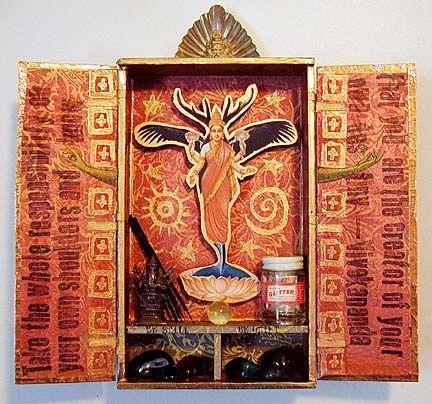 I need to start making mini altars like this <3