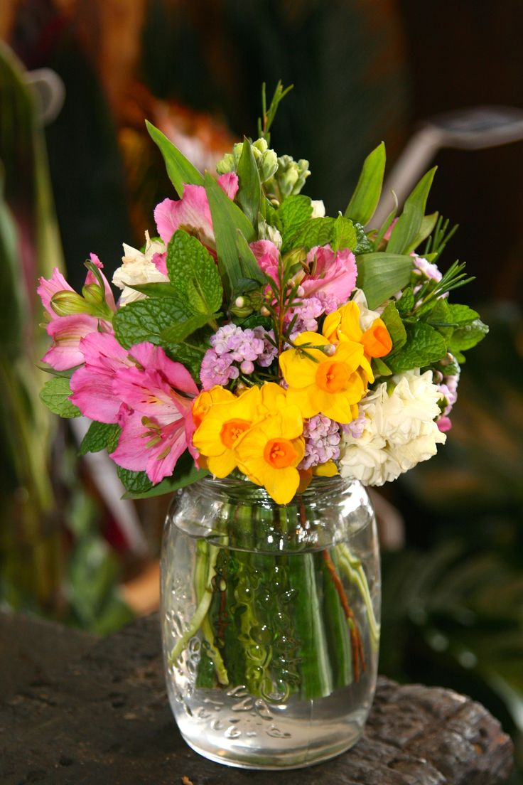 Tussy Mussy - a fragrant bouquet of herbs and flowers