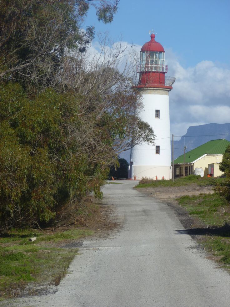 Cape Town: The 3rd oldest lighthouse in South Africa sits on Robben Island.
