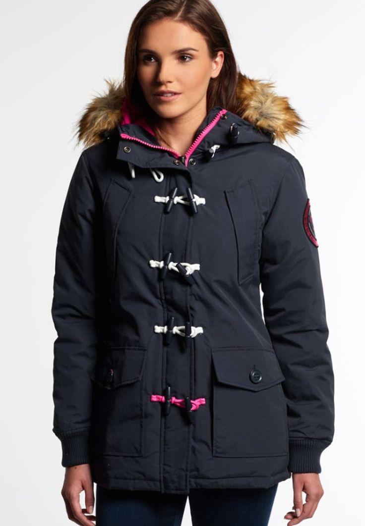 Superdry EVEREST Manteau court navy/pop pink prix Manteau Femme Zalando 169.95 €