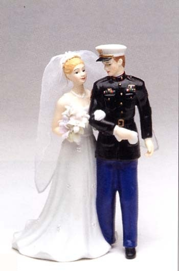 Marine Wedding Cake Topper In 2019 Pinterest Bride And Toppers