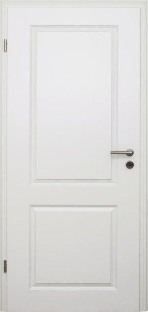 HORI Zimmertür Estella 2 Weißlack Röhrenspan Rundkante Bild 2