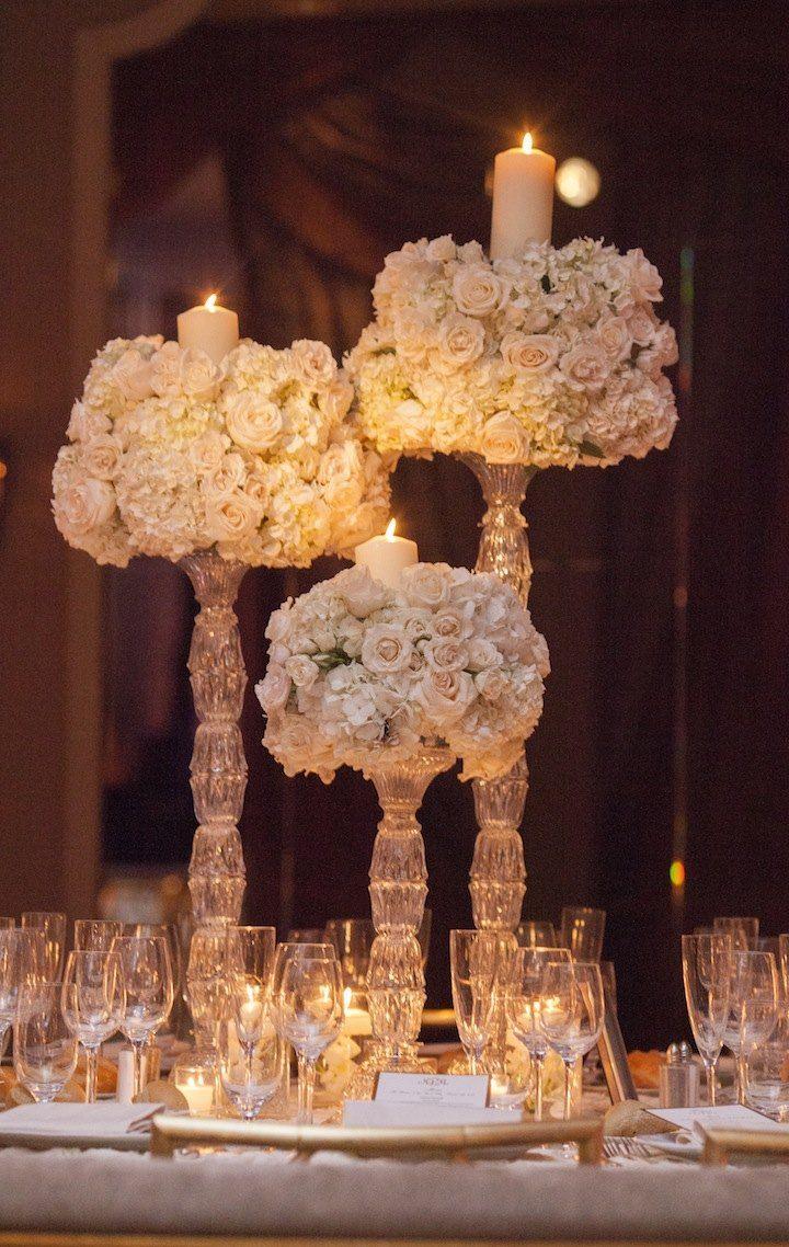 wedding centerpiece idea; photo: Captured Photography