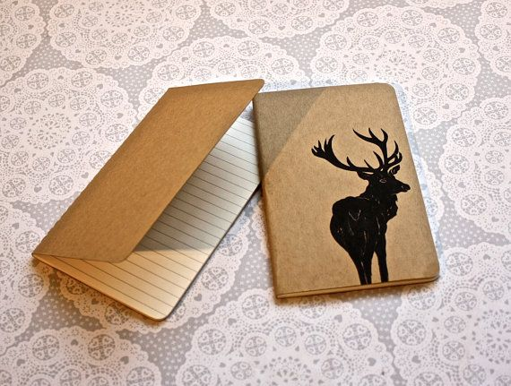 Stag note book Moleskine Cahier Journal Lined pages