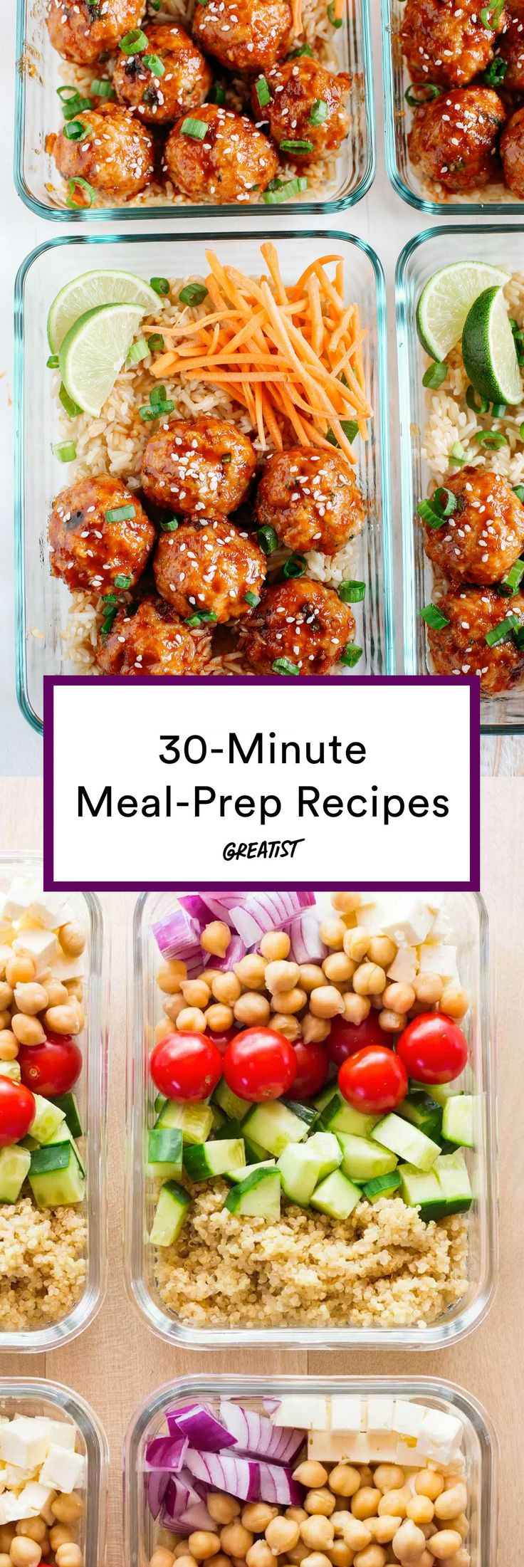 Meal prep for people who don't feel like meal-prep…