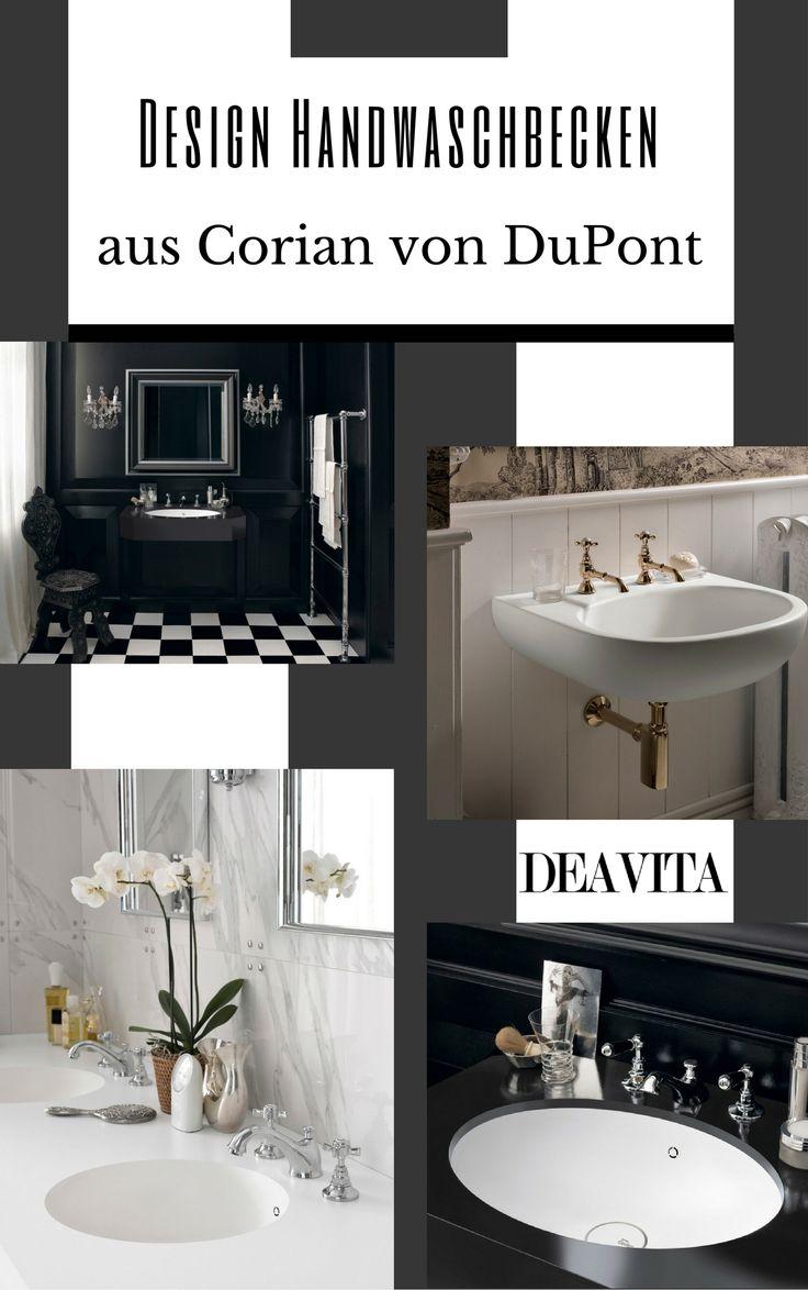Wie kann man die technischen Eigenschaften und das moderne Design des Badezimmers aufwerten? DuPont präsentieren 8 Modelle Design Handwaschbecken aus Corian #bathroom  #badezimmerset