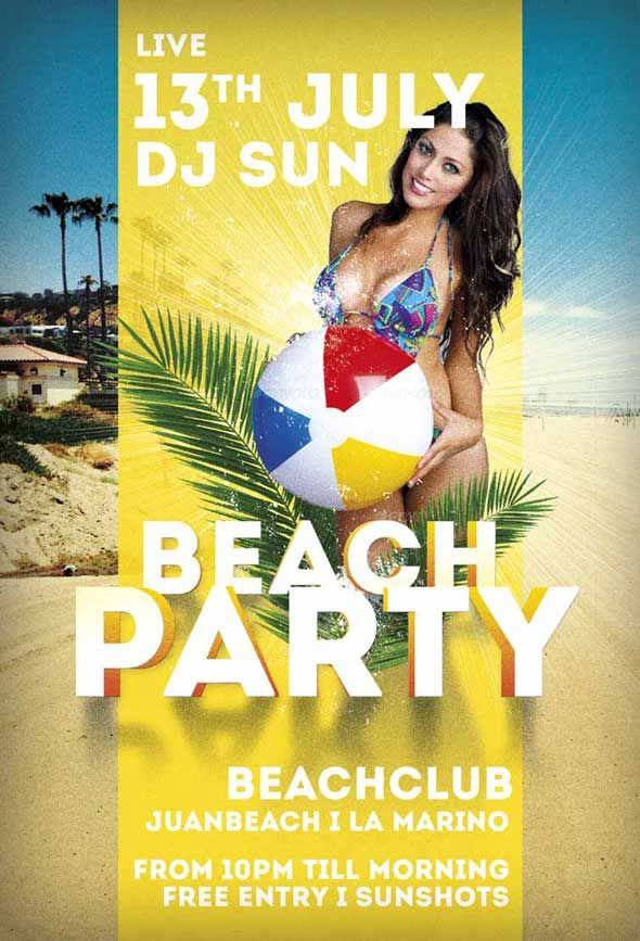 Best Free Flyer Psd Templates Images On   Party Flyer