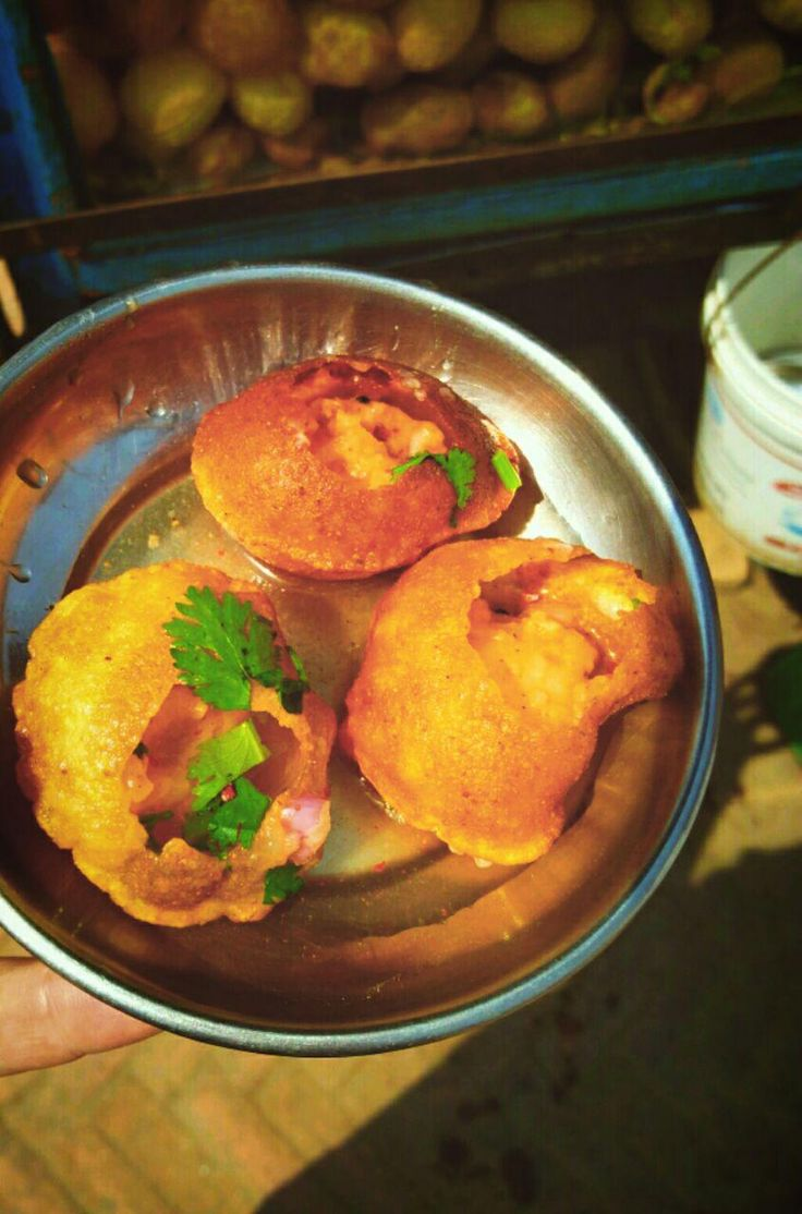 [I Ate] Panipuri in Kathmandu Nepal