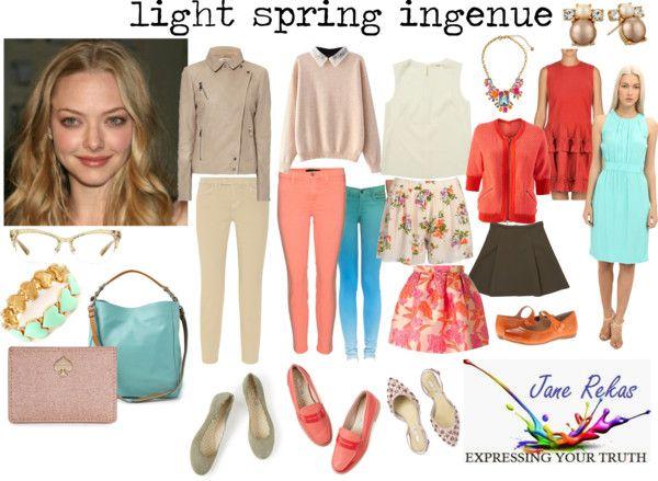 light spring ingenue