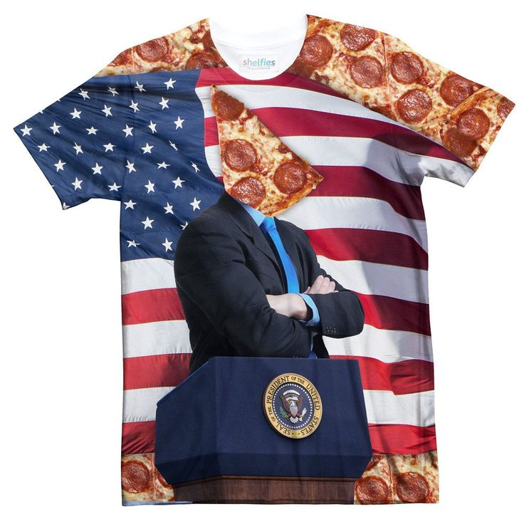 T Shirts - Pizza For President Tee