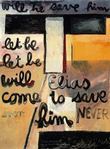 Will he save him? , 1959 - Colin McCahon