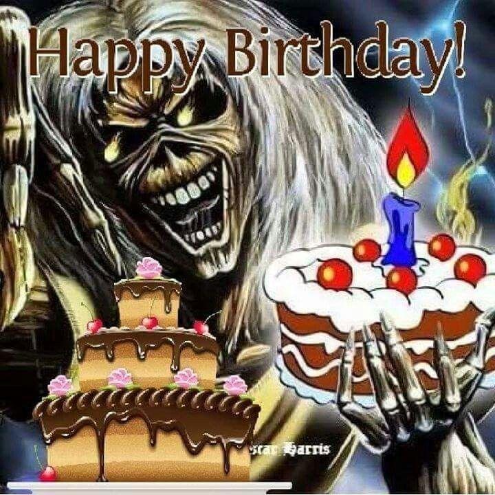 Happy Birthday ☇☇(Steve Harris)