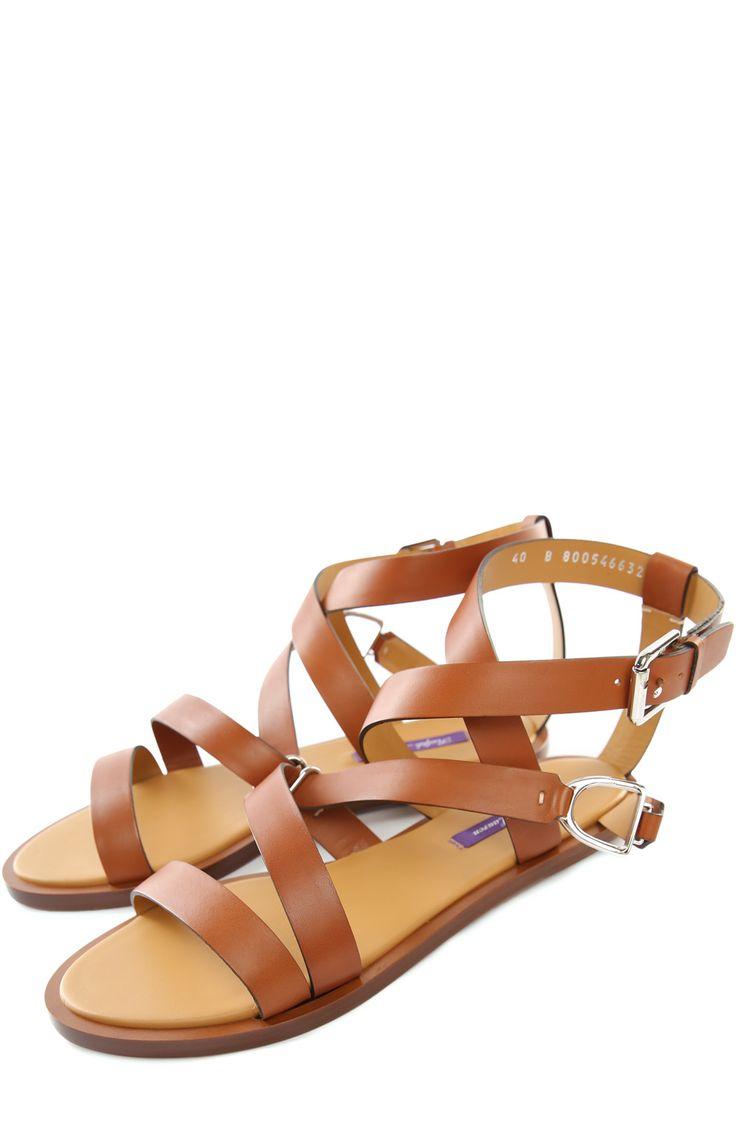 Женские коричневые сандалии Ralph Lauren, арт. 877/F3190/R0243 купить в ЦУМ   Фото №2