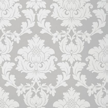 silver damask wallpaper - photo #23