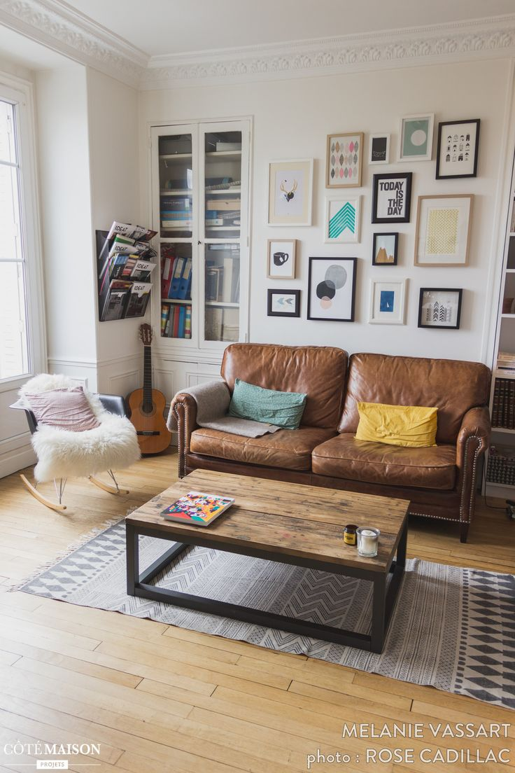 25 best ideas about salon cuir on pinterest fauteuil. Black Bedroom Furniture Sets. Home Design Ideas