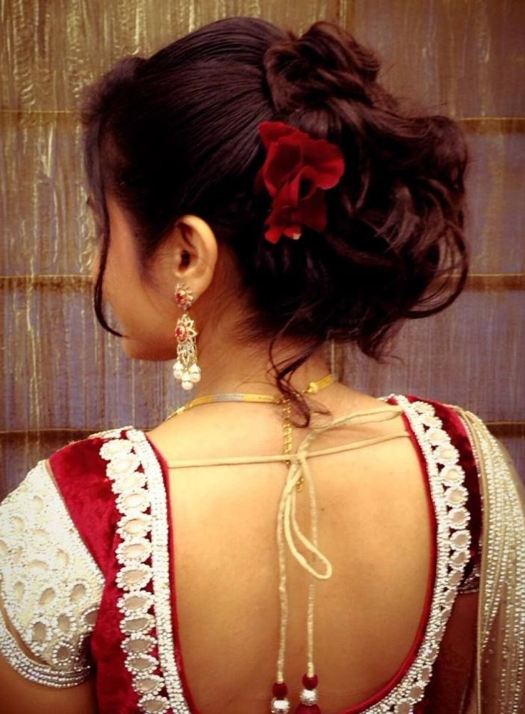 traditional south indian bride39s bridal reception hairstyle hairstyles for a wedding reception