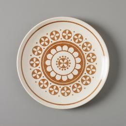 2013/16/40 Dinner plate, stoneware, Genuine Ironstone by Crown Lynn Pottery, New Zealand, c.1980 - Powerhouse Museum Collection