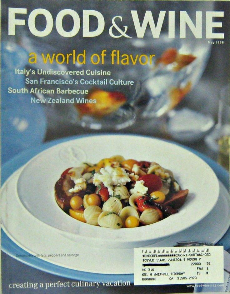136 best food and wine magazine images on pinterest wine magazine buy one of our magaines at regular price and get a second for off italian undiscovered recipes food wine monthly cooking magazine may 1998 forumfinder Choice Image