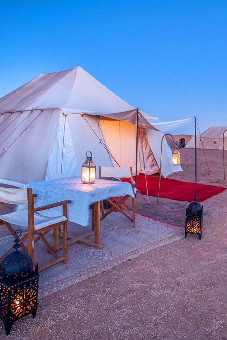 luxury camping tents canada