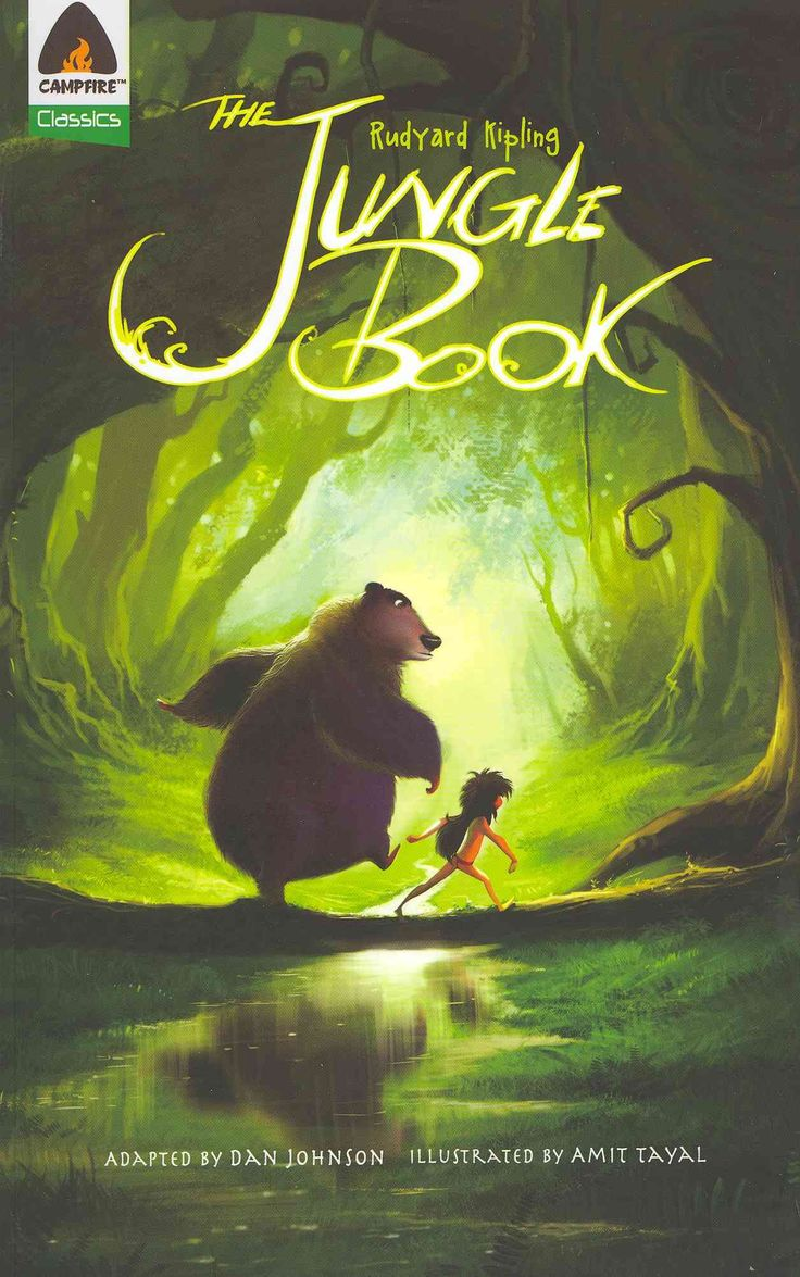 Mowgli the boy who is raised in a jungle by a panther bear and a python in this popular classic comes now in a graphic novel