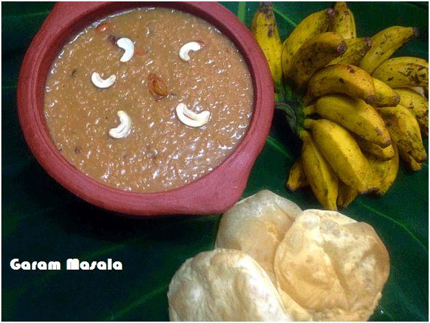 Ari Payasam / Kerala Nadan Payasam for Onam Sadhaya - Garam Masala