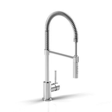 Find, Shop for and Buy Riobel BI201 Kitchen faucet with spray at QualityBath.com for $463.20 with free shipping!