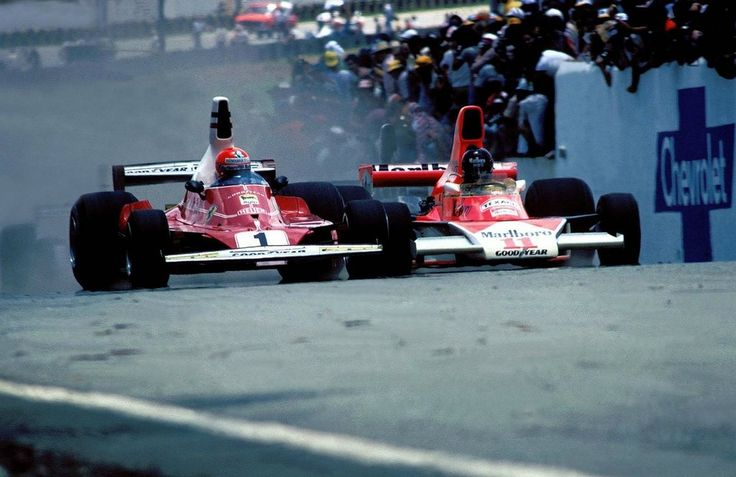 James Hunt e Niki Lauda 1976!