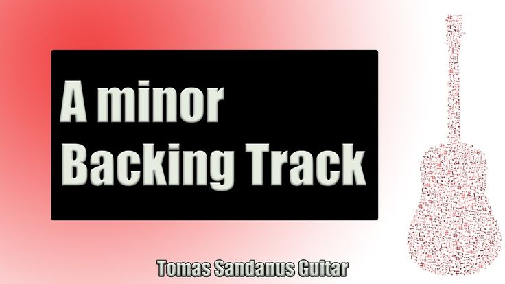 Backing Track in Am Pop Rock Bluesy Sad Ballad with Chords and A Blues Scale