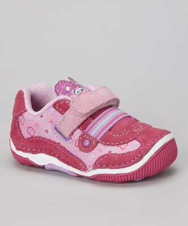 Pink Embracers™ Abby Sesame Street™ Sneaker by Stride Rite on  zulily 7ed1dcd90c8