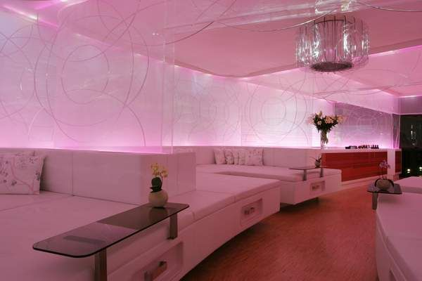Silk Bed Restaurant in Cocoon Club Frankfurt