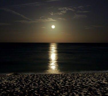 pemandangan bulan purnama di pantai pantaihttp pemandanganoce blogspot com 2017 08 d