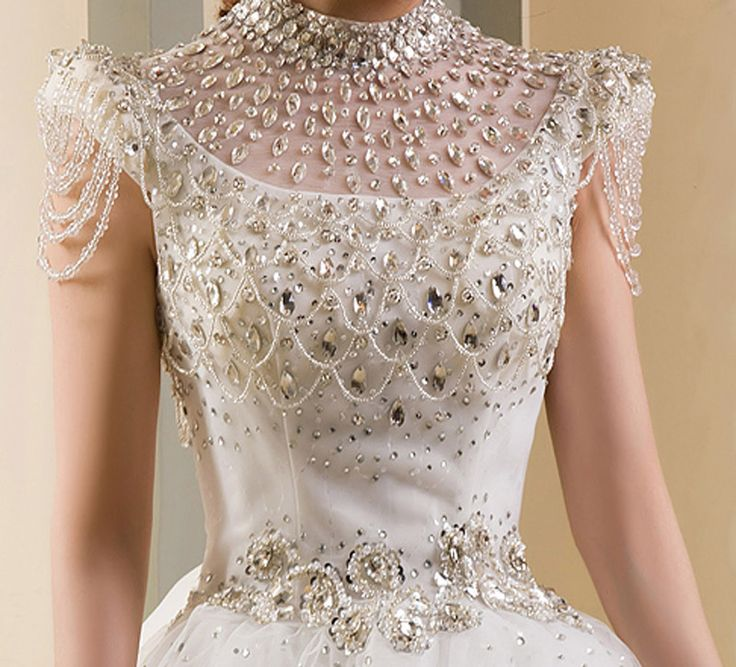 Get to know the most expensive wedding dresses 5 - the day