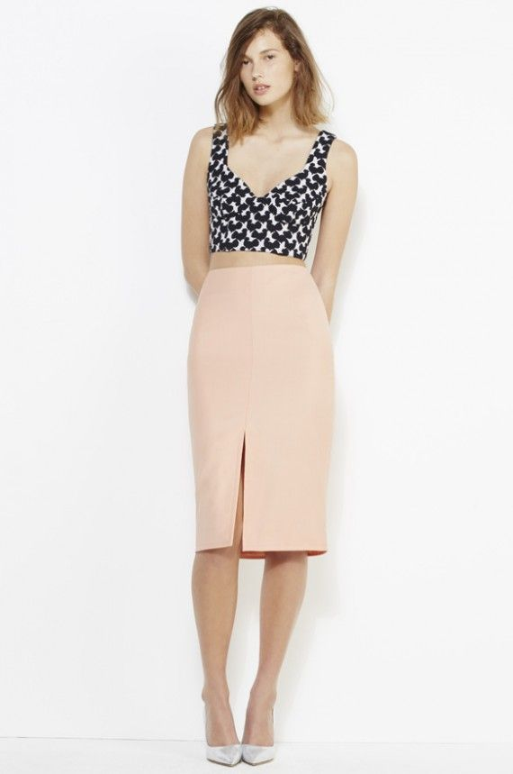 http://frontrow.com.au/product/wool-pencil-skirt-peach/